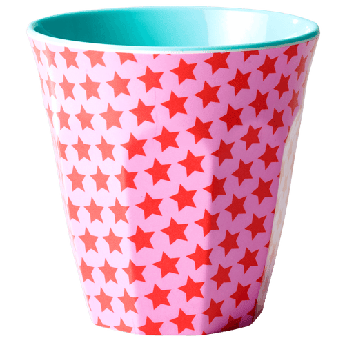 Medium Melamine Cup, Star Print - Gazebogifts
