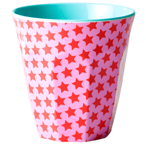 Medium Melamine Cup, Star Print