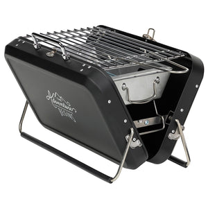 Gentlemen's Hardware- Portable Suitcase Style Barbecue - Gazebogifts