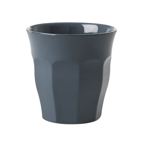 Medium Melamine Cup, Dark Grey - Gazebogifts