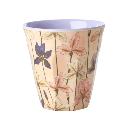 Medium Melamine Cup, Iris Print - Gazebogifts