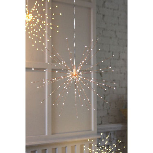 Copper Starburst - 50cm - Battery Operated by Lightstyle London - Gazebogifts