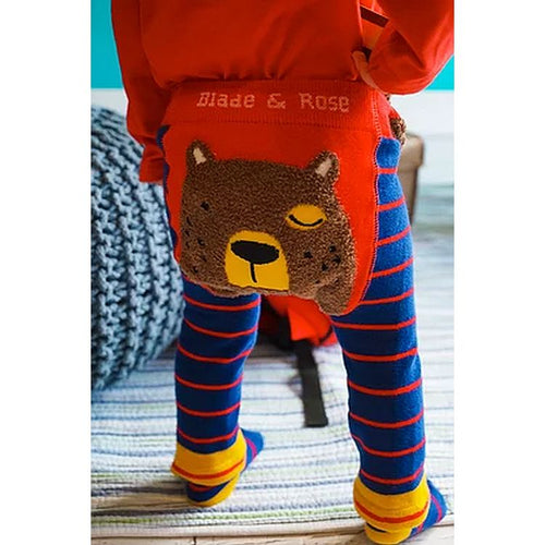 Leggings by Blade and Rose - Big Brown Bear - Gazebogifts
