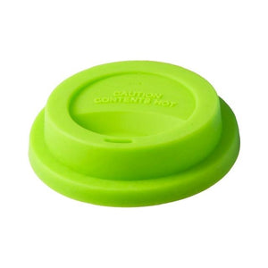 Silicone lid green rice DK. Coffee, cup