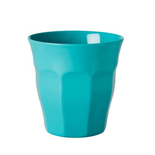 Medium Melamine Cup, Aqua Blue - Gazebogifts