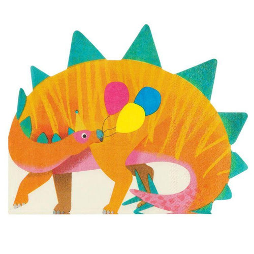 Dinosaur Shaped Napkin - Gazebogifts