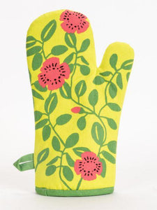 Hot, Hot, Vegetarian Action Oven Mitt - Gazebogifts