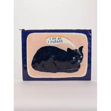 Load image into Gallery viewer, I Do As I Please Jumbo Pouch - Gazebogifts