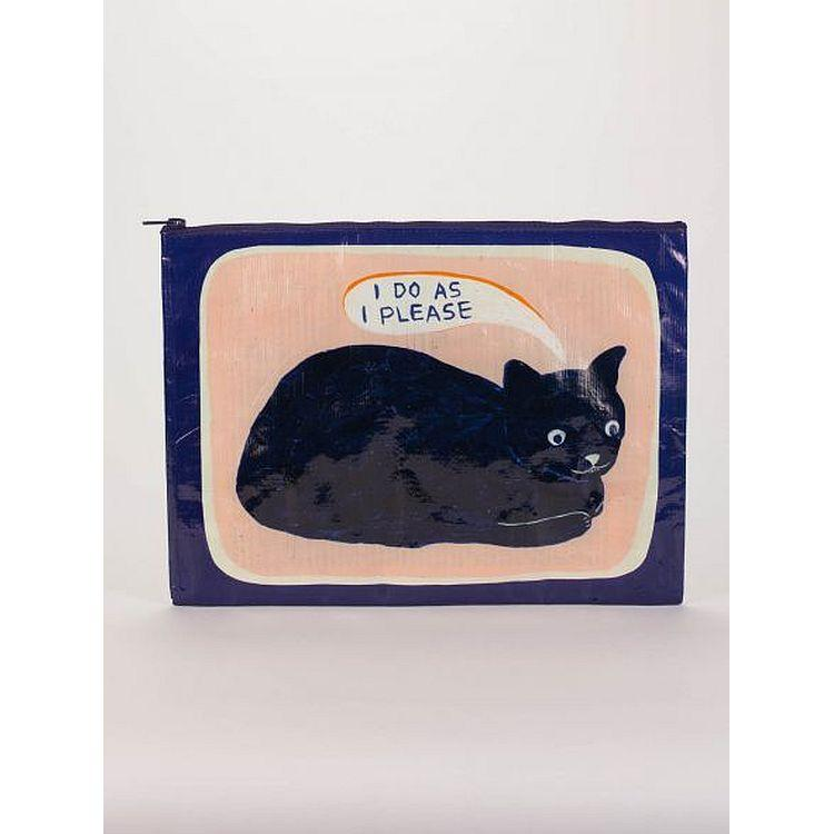 I Do As I Please Jumbo Pouch - Gazebogifts