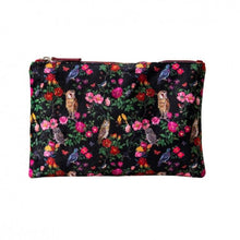 Load image into Gallery viewer, Nathalie Lete Forest Folk Large Velvet Wash Bag - Gazebogifts