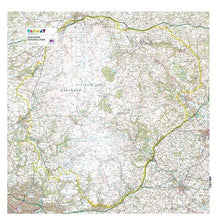 Load image into Gallery viewer, Picnic Mat by Pacmat - OS Map of Dartmoor - Gazebogifts