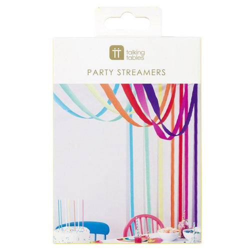 Rainbow Paper Streamers - Gazebogifts