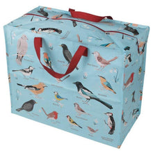 Load image into Gallery viewer, Garden Birds Design Jumbo Storage Bag