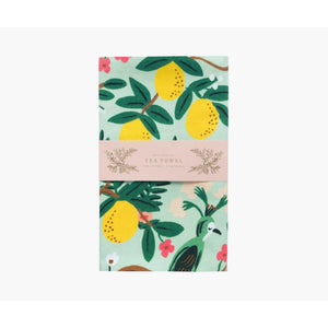 Rifle Paper Co. Shanghai Garden Tea Towel - Gazebogifts