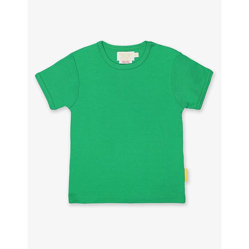 Organic Cotton Children's T-Shirt by Toby Tiger - Green - Gazebogifts