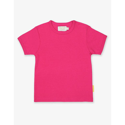 Organic Cotton T-Shirt by Toby Tiger - Pink - Gazebogifts