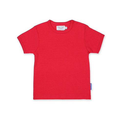 Organic Cotton T-Shirt by Toby Tiger - Red - Gazebogifts