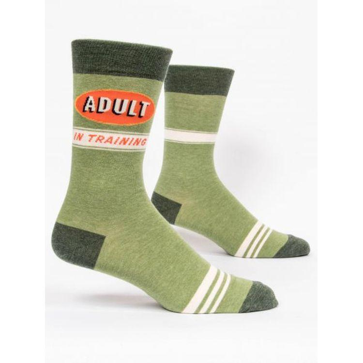 Adult In Training M-Crew Socks - Gazebogifts