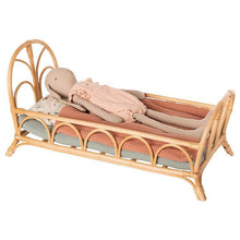 Load image into Gallery viewer, Maileg Rattan Bed - Gazebogifts