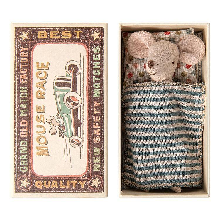 Maileg Big Brother Mouse in Matchbox - Gazebogifts