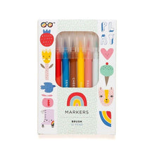 Load image into Gallery viewer, 10 Felt Top brush Pens - Gazebogifts