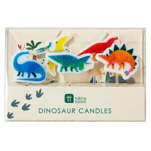 Dinosaur Candles - Gazebogifts