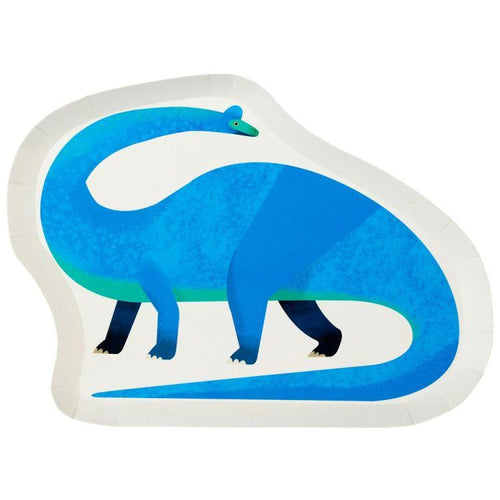 Dinosaur Shaped Paper Plate - Gazebogifts