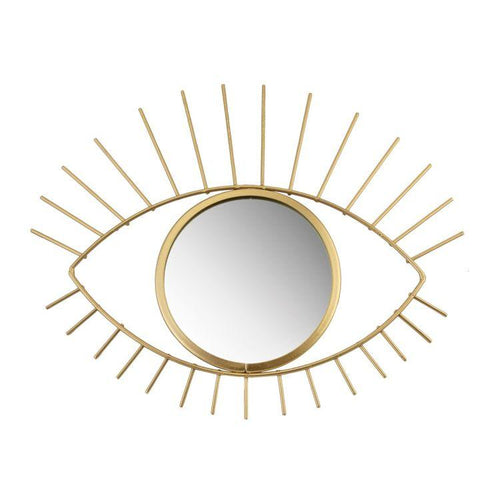 Gold Tribal Eye See You Mirror - Gazebogifts