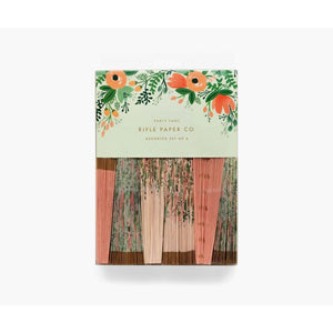Rifle Paper Co. Wildflower Fans - Gazebogifts