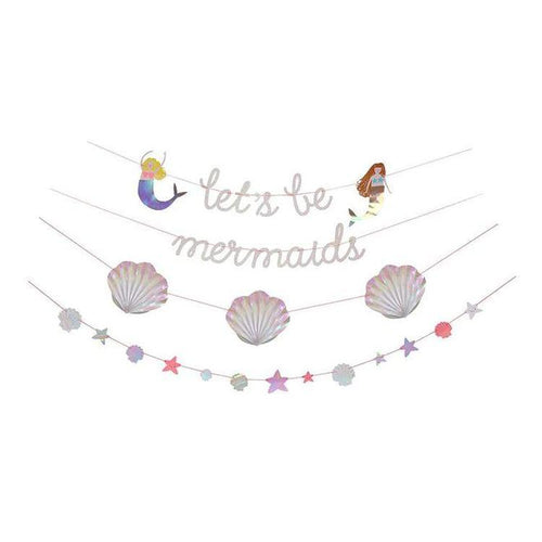 Let's Be Mermaids Garland - Gazebogifts