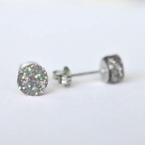 Mini Glitter Dot Stud Earrings - Gazebogifts