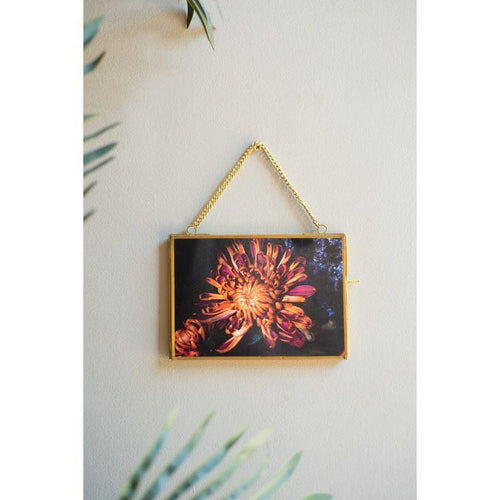 Hanging Glass and Metal Photo Frame - Gazebogifts