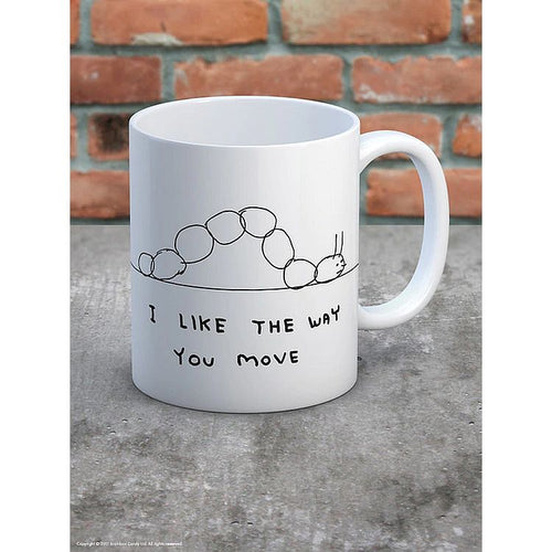 David Shrigley I Like The Way You Move Mug - Gazebogifts