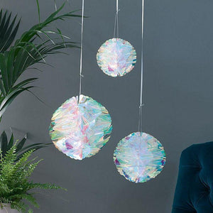 Decadent Decs Iridescent Honeycomb Decorations - Gazebogifts