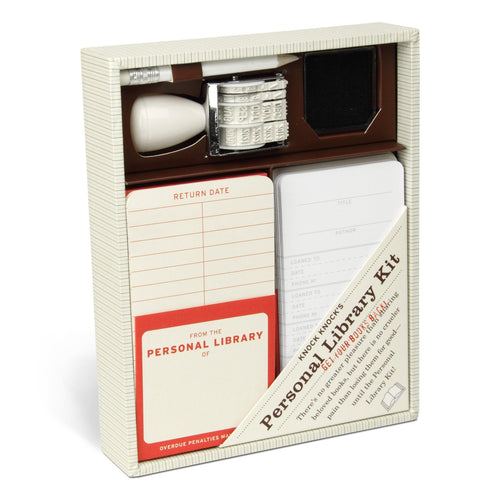Knock Knock's Personal Library Kit - Gazebogifts