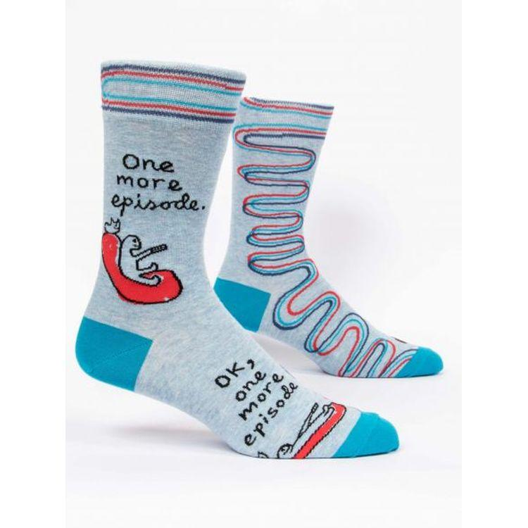 One More Episode M-crew Socks