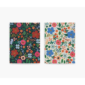 Rifle Paper Co. Wild Rose Pocket Notebook Set - Gazebogifts