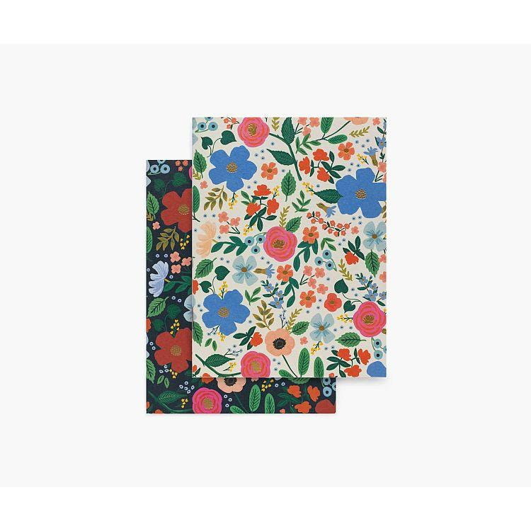 Wild Rose Pocket Notebook Set
