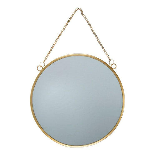 Touch of Gold Round Mirror - Gazebogifts