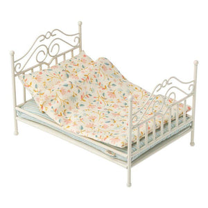 Maileg Vintage Bed, Micro - Soft Sand - Gazebogifts