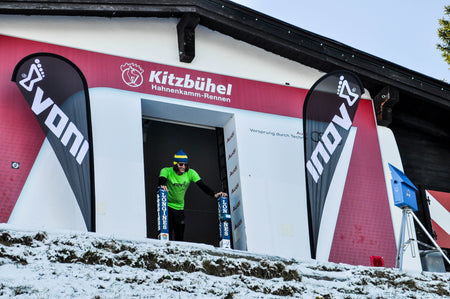 Inov-8 Launches Downhill Race on World's Toughest Ski Slope!