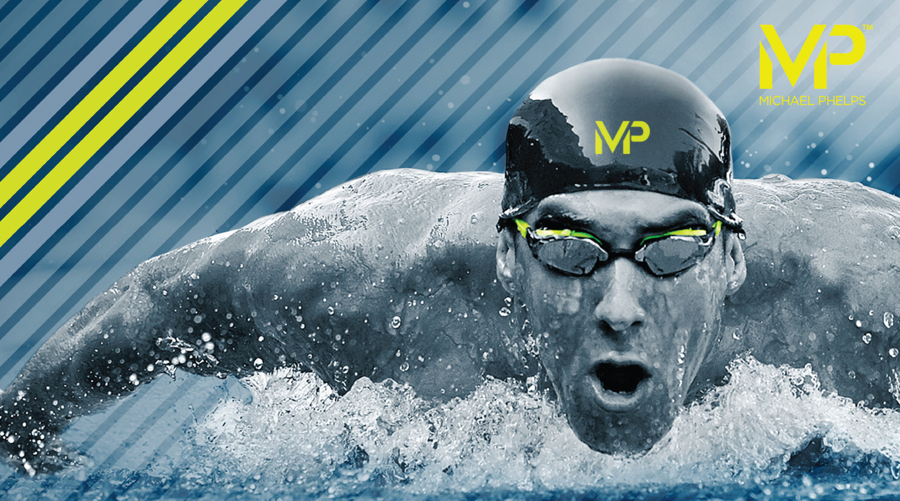 Mp Michael Phelps Swimming Goggles Swimsuits Key