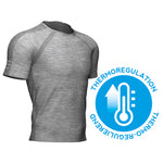 CS TRAINING SS TSHIRT-Grey Melange (AM00014B_101)