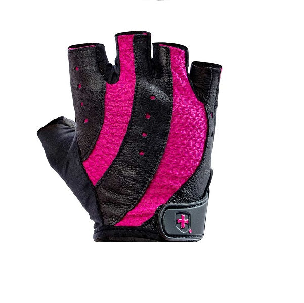 Harbinger WOMEN'S PRO GLOVES : Black/Pink