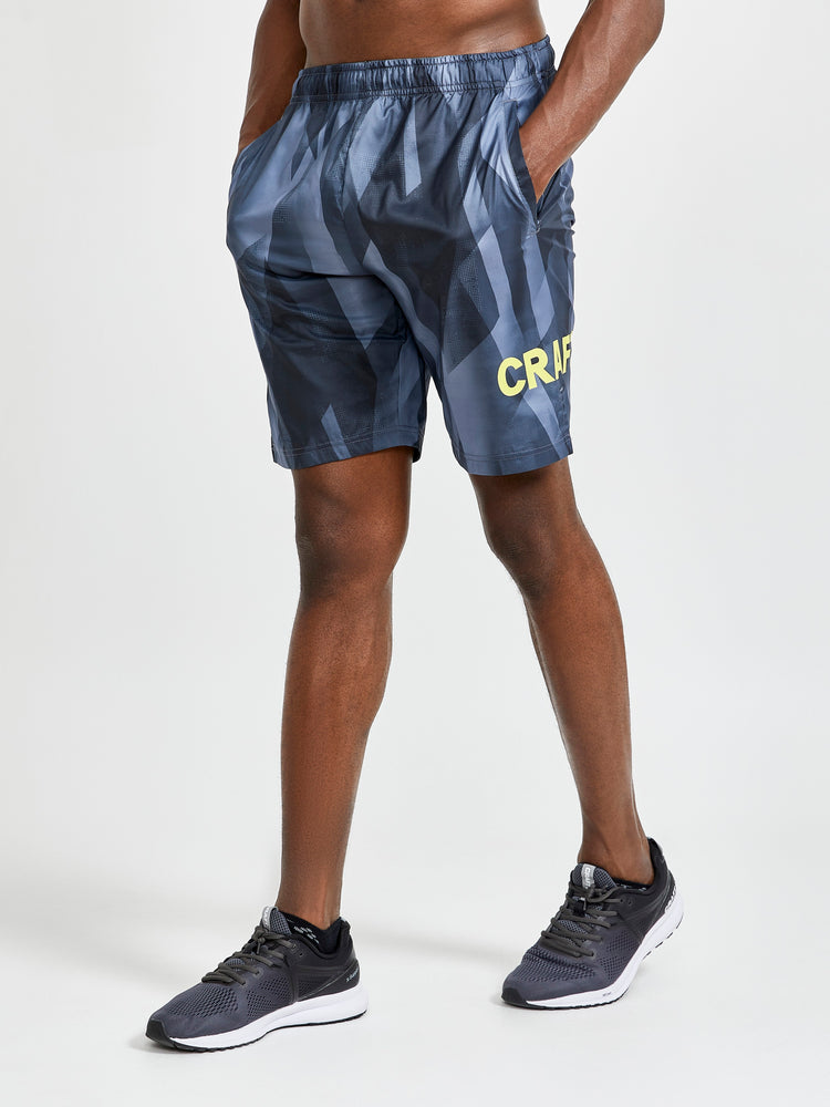 Craft Men's Core Charge Shorts - P Urban/Black