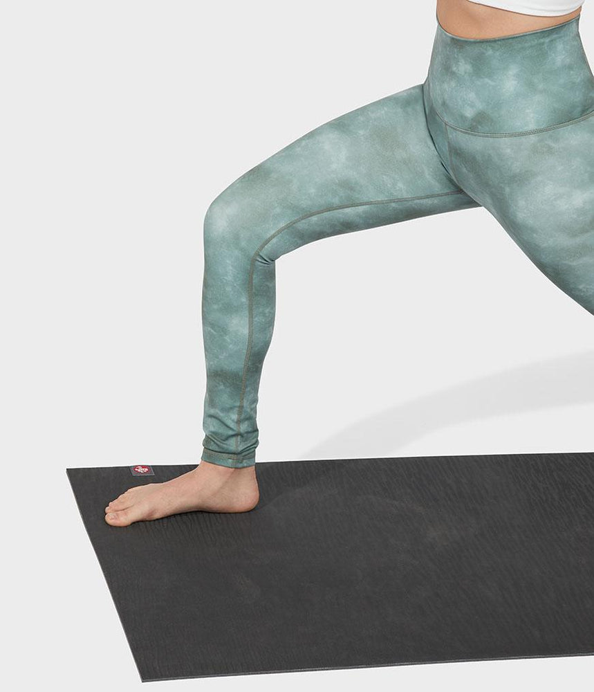 Manduka Performance Legging High Rise Printed - Camo Tie Dye Green