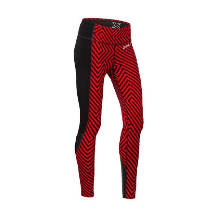 2XU Women's Pattern Fitness Compression Tights : WA4602B
