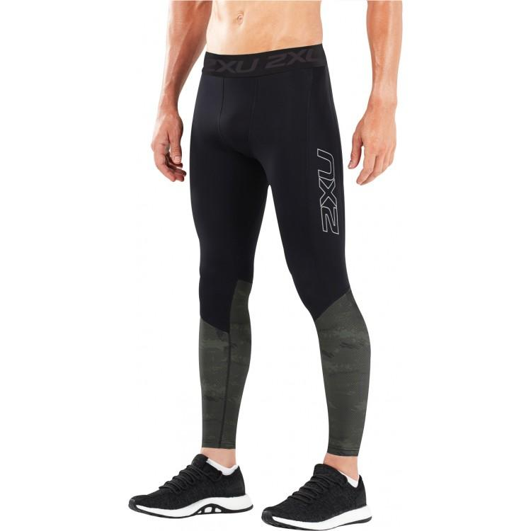 2XU Men's Accelerate Compression Tight With Storage-MA5371B (BLK/ASD)