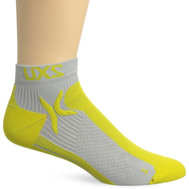 2XU Men's Performance Low Rise Sock-MQ1903E (CGY/NYL)