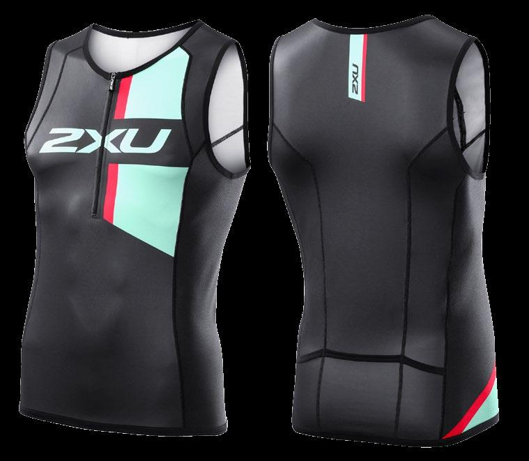2XU Men's Custom Long Distance Tri Singlet MX0054A
